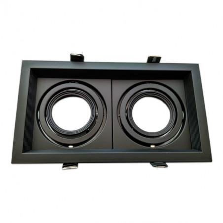 Marco orientable doble para AR60 color negro