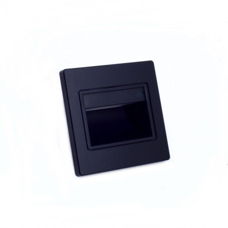 Led inwall light 1.5W black
