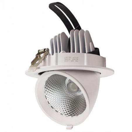 Proyector de Techo LED Redondo Orientable 36W