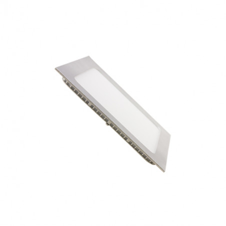 Downlight panel 6W cuadrado PLATA