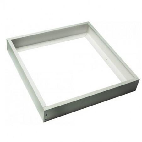 Marco aluminio plata para panel 60x60