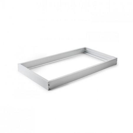 Marco aluminio blanco para panel 30x60
