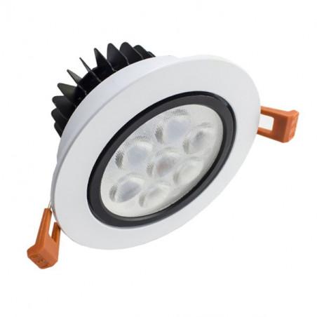 LED Downlight - White Frame, 7W