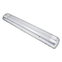 Balise cylindrique de surface IP65 E27