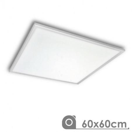 Panel Led 60 x 60 cm 40W Marco Blanco