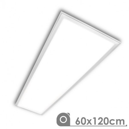 LED Panel - Extra-slim, 88W, 60X120 cm white frame