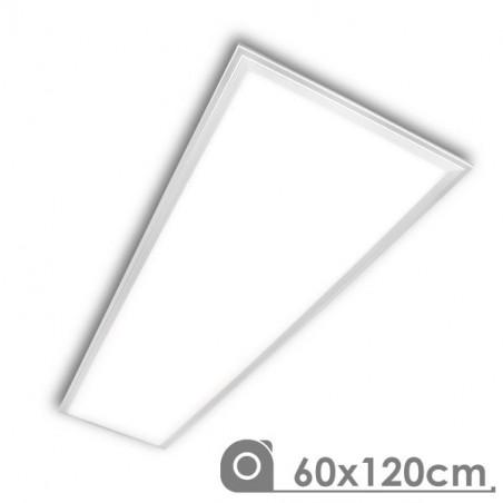 Panel LED 60X120 cm 88W marco blanco