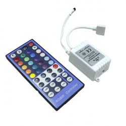 Controlador con mando, tira led RGB 12V