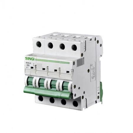 Circuit breaker 4P 6kA