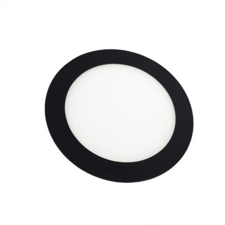 Downlight - Round 18W Panel Black