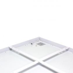 Panneau LED rétro-éclairé 60X120 cm 90W cadre blanc