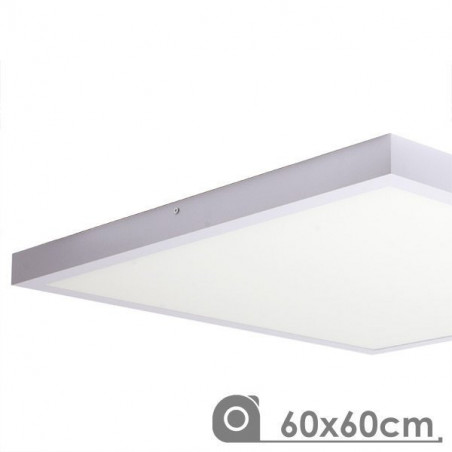 Surface panel 60x60 48W, white frame