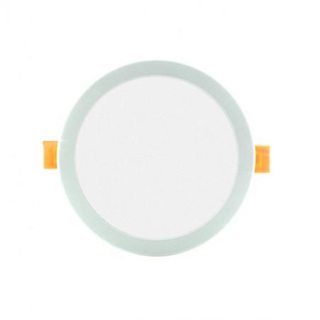 Downlight - Round 8W Panel. Adjustable