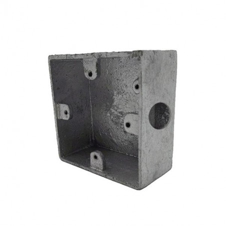 Surface metal switch & socket box