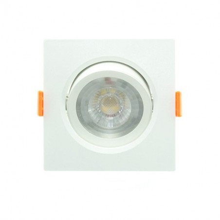 7W square downlight PC series
