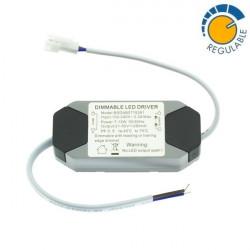 Driver REGULABLE para downlight LED de 7W a 15W