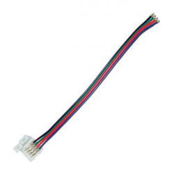 Cable conexión tira LED RGB (4 pin)