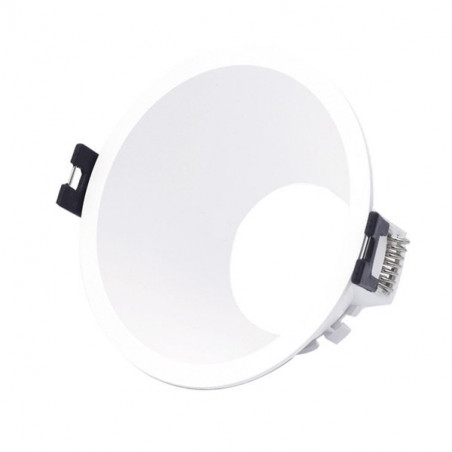 Round flush base for dichroic bulb PC series