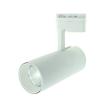 Foco carril led 30W orientable blanco