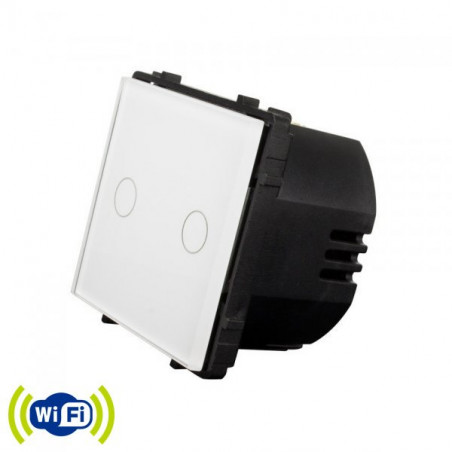 Wifi touch switch 2 gang