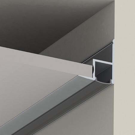 Perfil aluminio tira led 2...