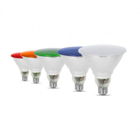 12W LED PAR38 - COLORS