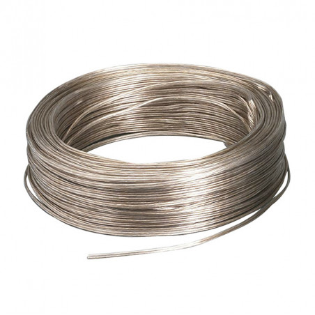 Transparent wire 2x0.5mm