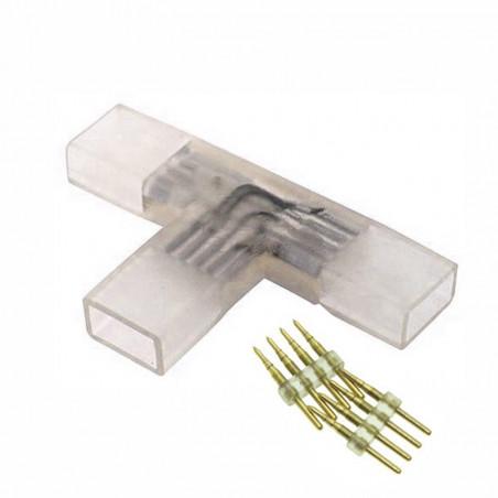 Conector en T tira LED 220V...