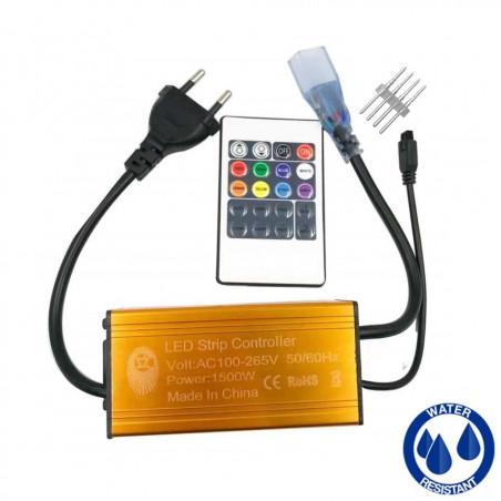 Controller for 220V RGB LED...