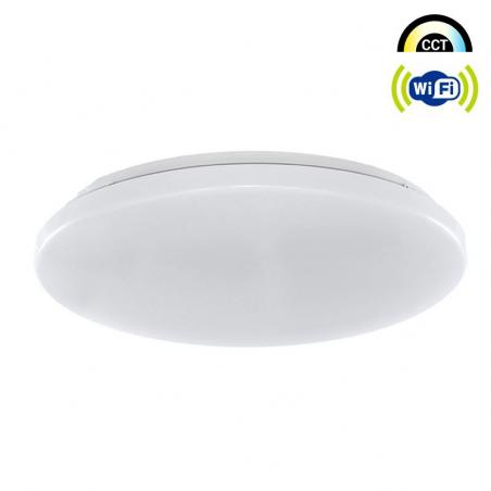 Plafón LED Wifi CCT 40W