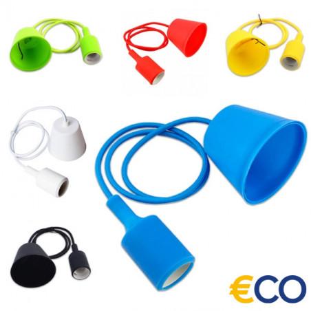 E27 lampholder in colors