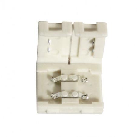 Conector unión rígido tira LED 10mm 2 vías