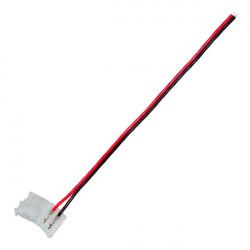 Cable conexión tira LED monocolor (2 pin)